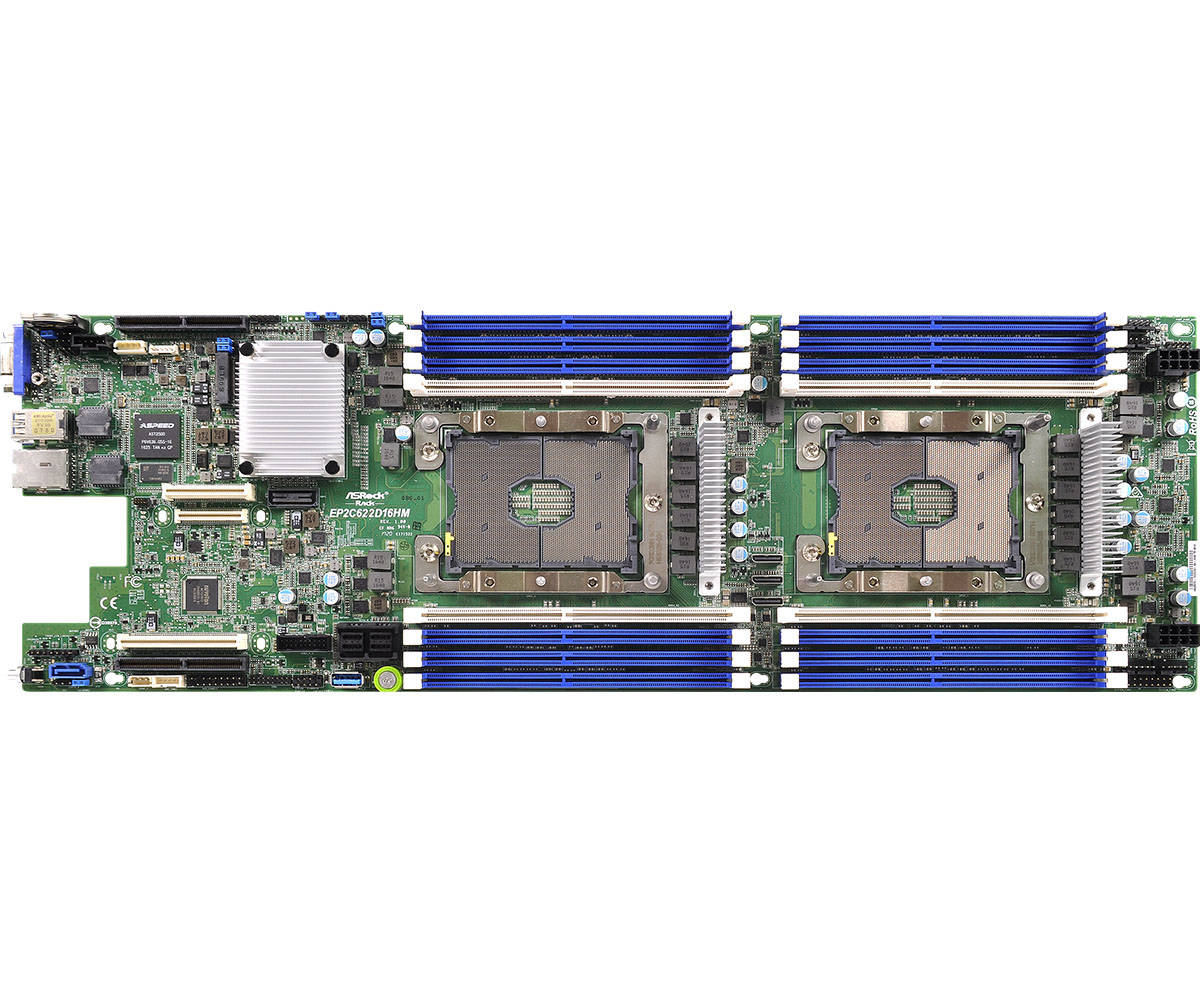 Server Memory Ram AT395731SRV-X2R2 DDR4 PC4-21300 2666Mhz ECC Registered RDIMM 2rx8 for ASRock EP2C612D16FM A-Tech 16GB Kit 2 x 8GB